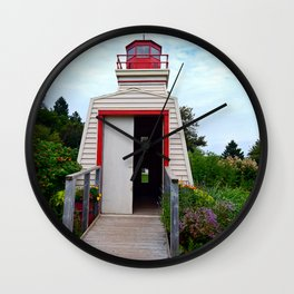 Lighthouse Shed Wall Clock