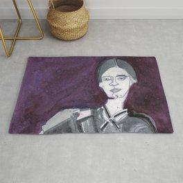 Emily Dickinson Rug
