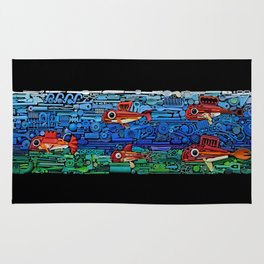 Fishes Rug