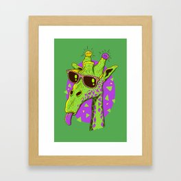 Giraffeo Framed Art Print