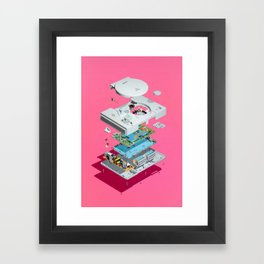 Assembly Required 4 Framed Art Print