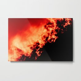 Anger / All red Metal Print
