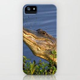 Alligator Grunt iPhone Case