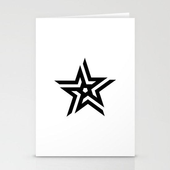 Untitled Star Stationery Cards