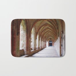 Monastery archway in Germany Bath Mat
