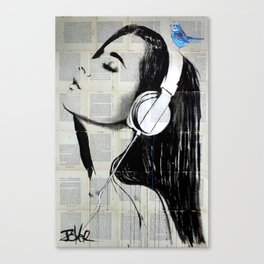 BIG AUDIO Canvas Print