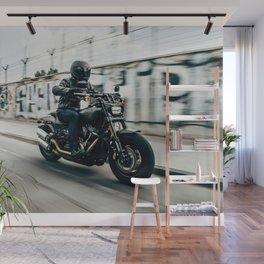Street Rider - Fine Art Print Wall Mural