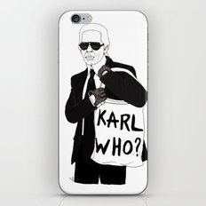 Karl iPhone & iPod Skin