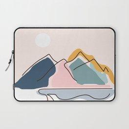 Minimalistic Landscape Laptop Sleeve