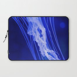 Blue Jellyfish (Color) Laptop Sleeve