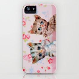 Hello kitties iPhone Case