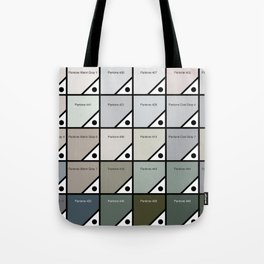 50 Shades Of Pantone Grey Tote Bag