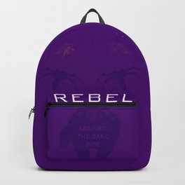 Rebel Against the Dark Side Propaganda Poster Backpack