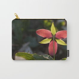Red Trillium Life Carry-All Pouch