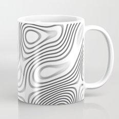Organic Abstract 01 WHITE Mug