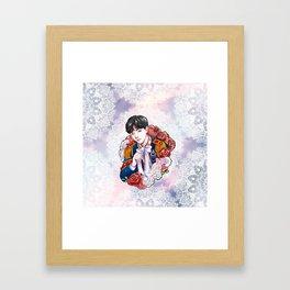 BTS JHOPE, King Hoseok, Kings of KPOP, Love Yourself, Boy With Luv Framed Art Print