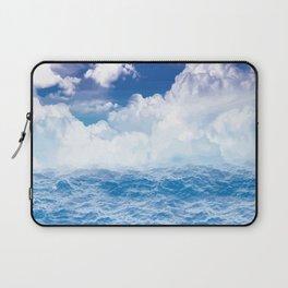 Wolken über dem Meer Laptop Sleeve