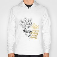 dragonball Hoodies featuring Dragonball Z - Strenth by Straife01