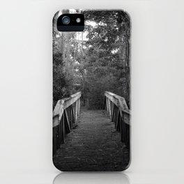 Burn a Bridge iPhone Case