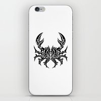 cancer iPhone & iPod Skins featuring Cancer by Mario Sayavedra