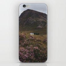 The moorland house iPhone Skin