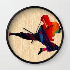 Martial Arts Wall Clock