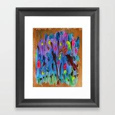 My palette Framed Art Print