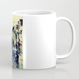 frisco kid // yellow bus Coffee Mug