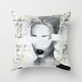 Torn 2 Throw Pillow