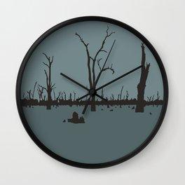 Floodscape Wall Clock