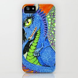 baby sparkle dragon iPhone Case