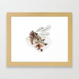 Annihilation! Framed Art Print