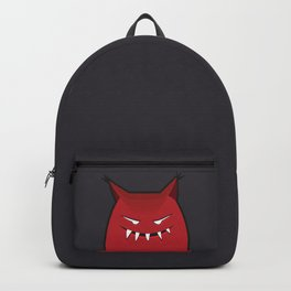 Evil Monster With Pointy Ears Backpack