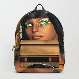 Wonderful egyptian women Backpack