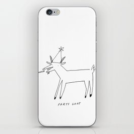 Party Goat iPhone Skin
