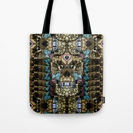 LOVE SKULL Tote Bag