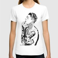 stephen king T-shirts featuring Stephen by christinabrunette