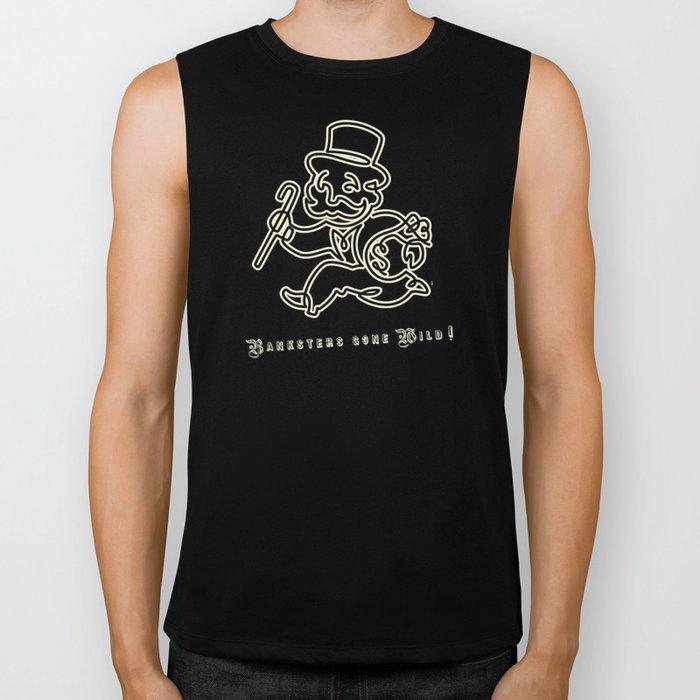 Banksters Gone Wild! Biker Tank