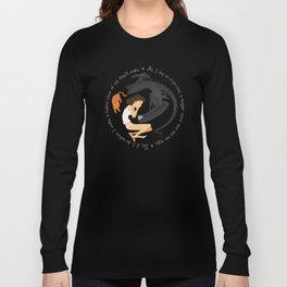 Ripley, the Alien and Jonesy Long Sleeve T-shirt
