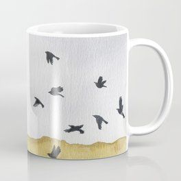 Autumn Crows Coffee Mug