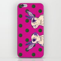 coral iPhone & iPod Skins featuring coral by Gray