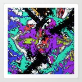 Shattered 2 Art Print