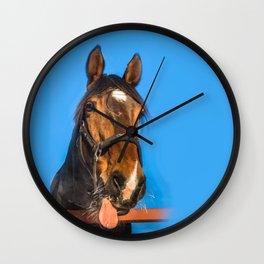 Horse Albert Wall Clock