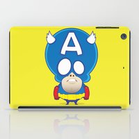 captain iPad Cases featuring Captain by John O'Connor