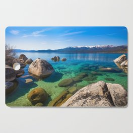 Let's Jump In At Sand Harbor, Lake Tahoe Cutting Board