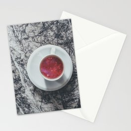 COFFEE PORTAL TO THE UNIVERSE Stationery Cards