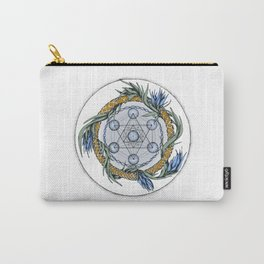 Metatron`s Cube Carry-All Pouch