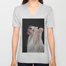 Drawing, illustration Chinese crested dog Unisex V-Neck