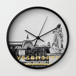 Eavesdropping at the Louvre Wall Clock