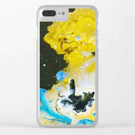 Island in the Sea near Vancouver Island Clear iPhone Case